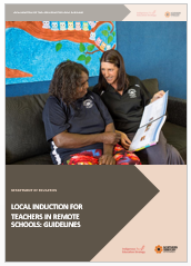 2018 Local Induction for teachers in remote schools _ guidelines for principals