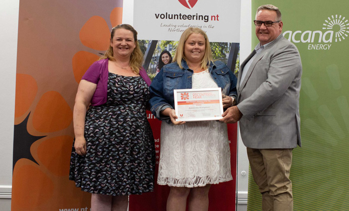 Ti Tree's Amanda Kimpton is volunteer of the year
