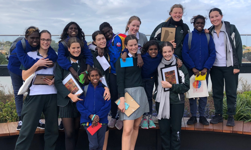 Ngukurr girls meet Melbourne Methodists