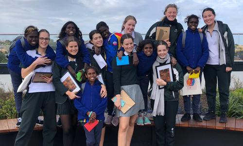 Ngukurr girls meet Melbourne Methodists