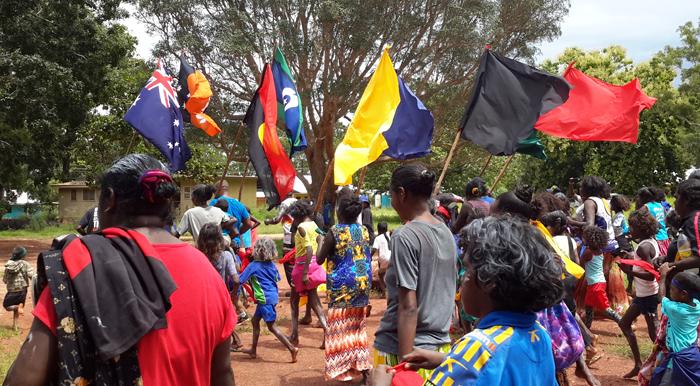 Gapuwiyak School celebrates Yolngu Rom