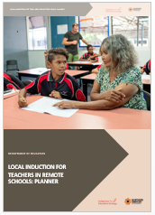 2018 Local Induction Template for Remote Schools - Planner