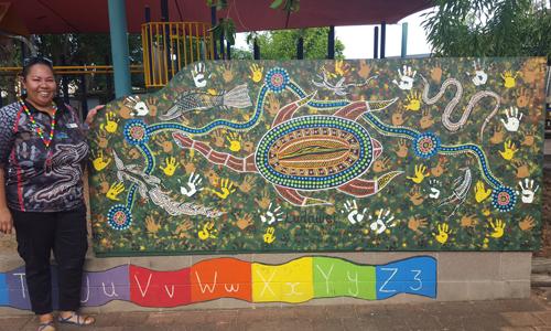 Trait turtle treks in preschool playground