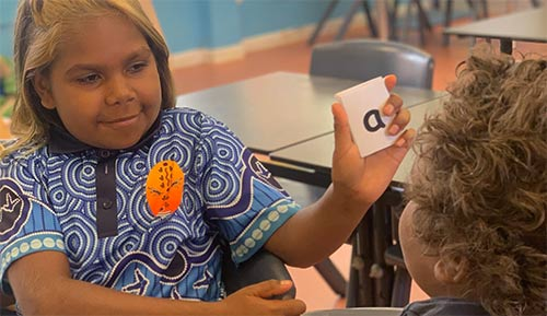 Lajamanu boosts first language Warlpiri