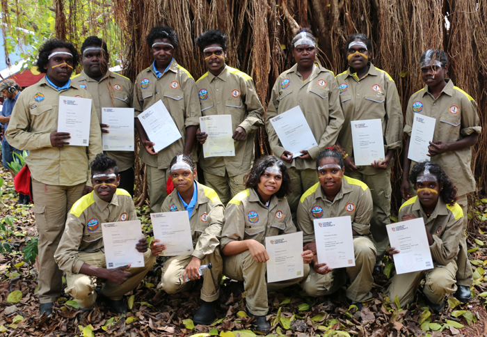 Maningrida students join Djelk rangers