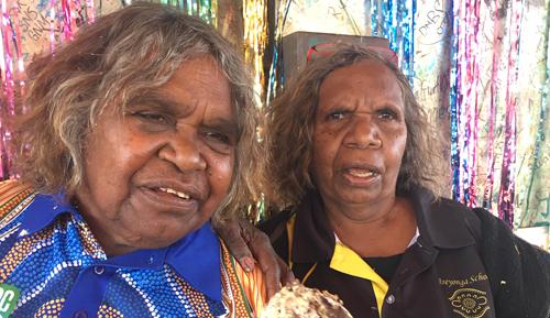Walungurru School stalwarts step down
