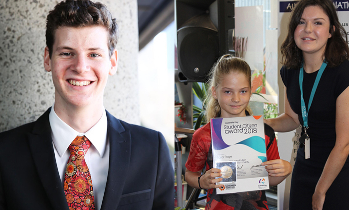 Student Citizens make their mark on Australia Day