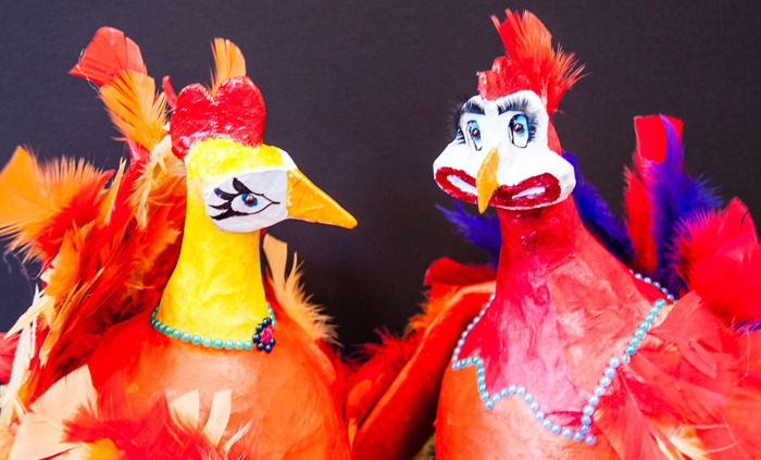 Clyde Fenton's eye arresting chooks to feature at local show