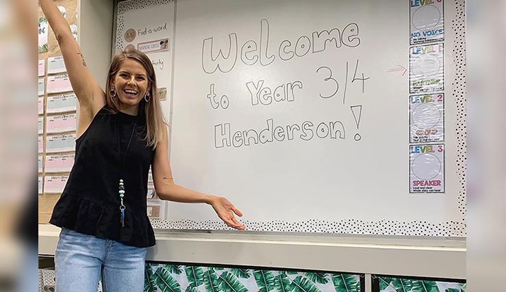 """New teacher loves """"shining moments"""""""