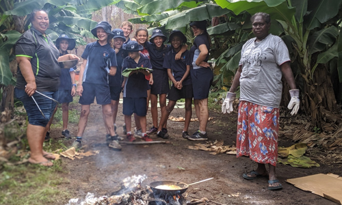 Angurugu Market Garden becomes a kitchen
