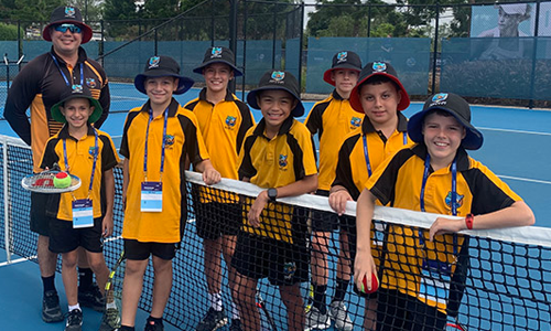 Tennis juniors sharpen skills in Brisbane battles