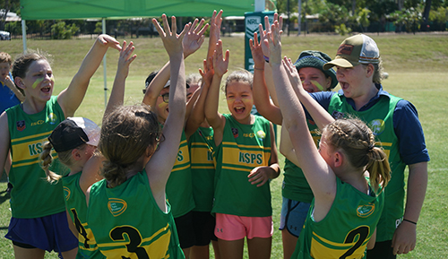 Katherine South Primary students scored upset victories over Darwin and Palmerston