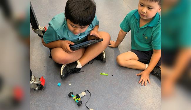 Club coding and robot fun