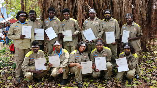 Students at Maningrida graduate