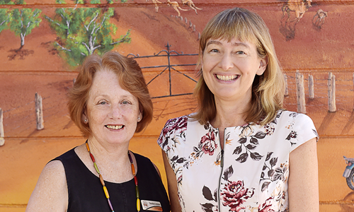 Alice Springs School of the Air VIP retires