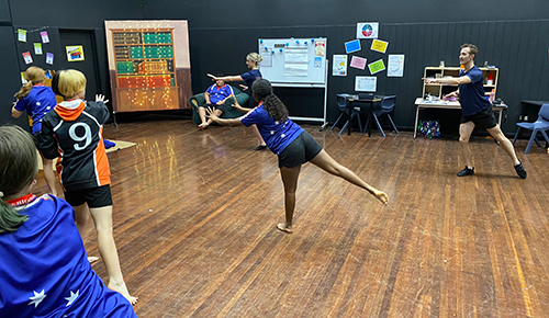 Ballet brings new thinking to KHS