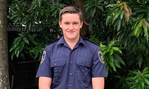 NT student one of youngest to tackle NSW fires