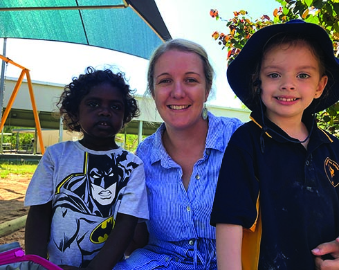 Lauren English - Teaching Principal at Mataranka School