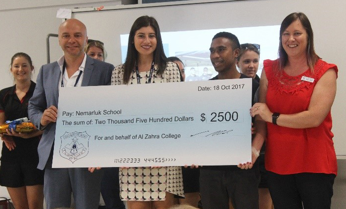 Al Zahra funds flow to Nemarluk School